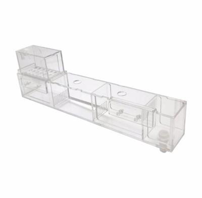 大號無架 2尺~3尺缸乾濕分離魚缸上濾盒 魚缸水族箱上置上部外置篩檢程式滴流盒過濾槽過濾盒水族箱上過 (8.5折)