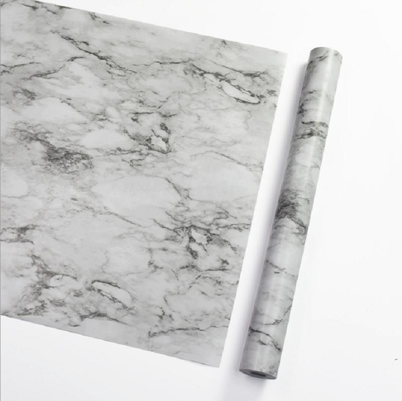 自黏式拋光大理石紋壁紙nf59810米一捲 防水防潮 經久耐用