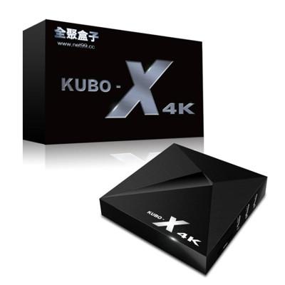 【全聚盒子】KUBO-X 4K高清影音電視盒 超強直播完勝安博/小米/易播/千尋 (8.6折)