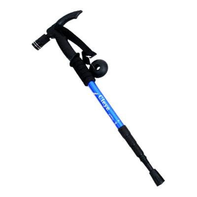 帶手電筒T型握柄鋁合金登山杖拐杖手杖 (5折)