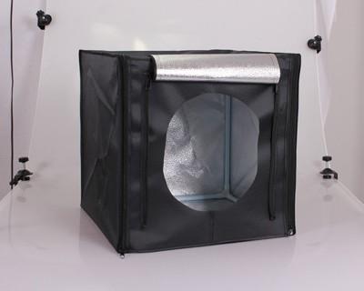 40cm雙燈組可攜式桌上型 高亮度LED 專業攝影棚/燈箱/柔光箱 (4.2折)