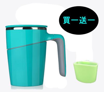 Artiart 神奇不倒杯(小資款)(買即送茶杯架) 魔力吸盤 保溫杯 馬克杯 情侶杯 辦公室 杯子 (4.5折)