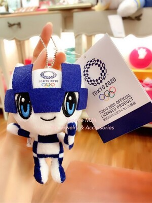 Yvonne MJA日本精品2020東京奧運紀念吉祥物娃娃別針吊飾 (10折)