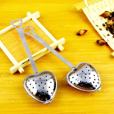 創意不鏽鋼愛心泡茶器 (2折)