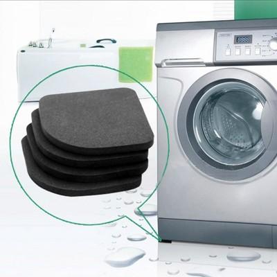歐文購物 日本減震墊4片裝 洗衣機墊減震墊電器防震墊海綿墊腳 家具腳墊子冰箱墊 地板防刮墊(10入) (6.6折)