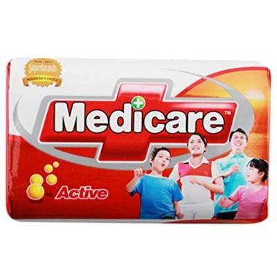 抗菌皂 印尼美天淨 香皂 Medicare 肥皂 抗菌皂(10入) (7.3折)