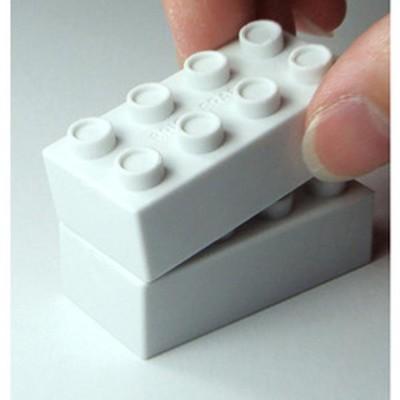 疊疊樂積木橡皮擦*1包(一黑一白) _台灣製造 (1.3折)