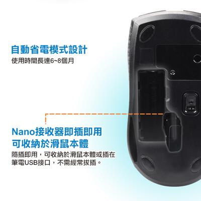 intopic 廣鼎 2.4ghz飛碟無線光學鼠(msw-721) (6折)