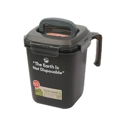 樂扣樂扣廚餘桶回收桶垃圾桶4.8L四面環扣防止異味散出-大廚師百貨 (8.5折)