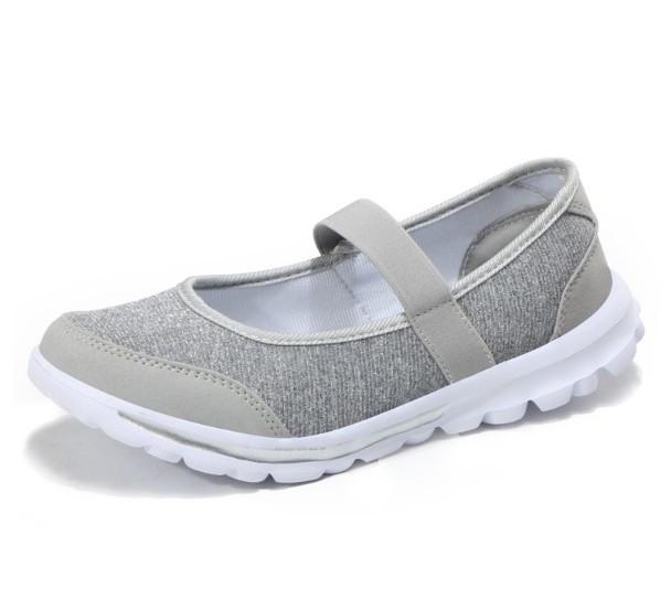 飛織布面娃娃款減震軟底鞋(3色可選)