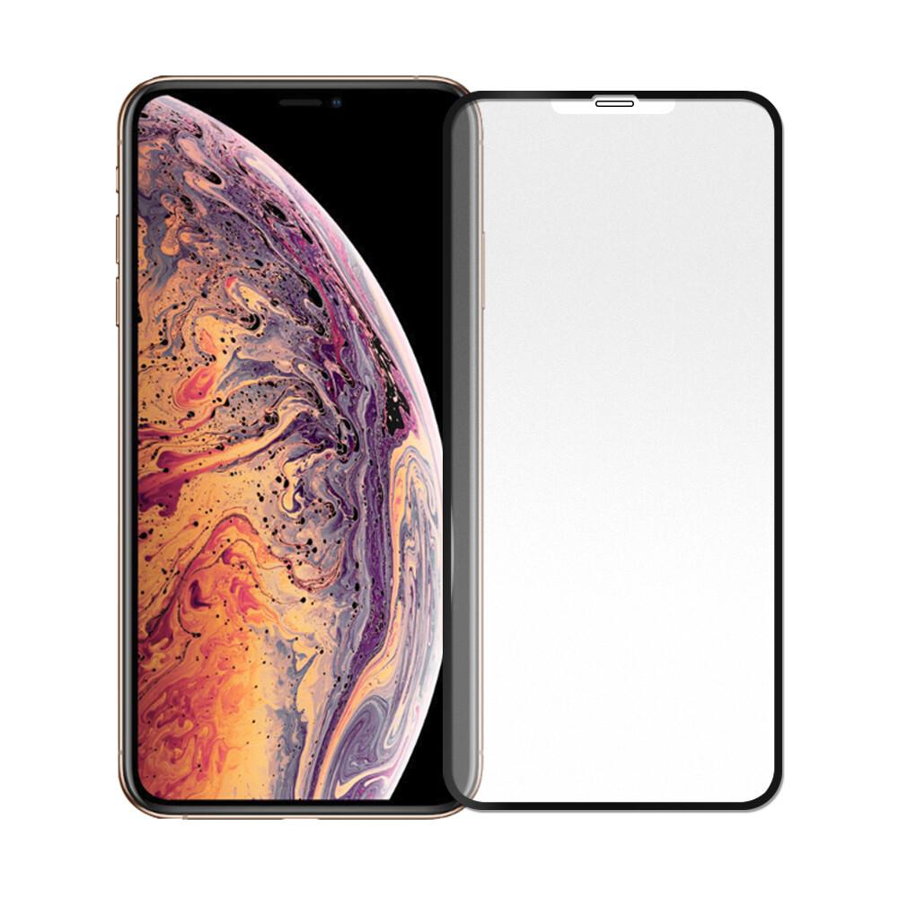 iphone11 pro max/ xs max  大視窗隱形霧面防指紋9h鋼化玻璃保護貼