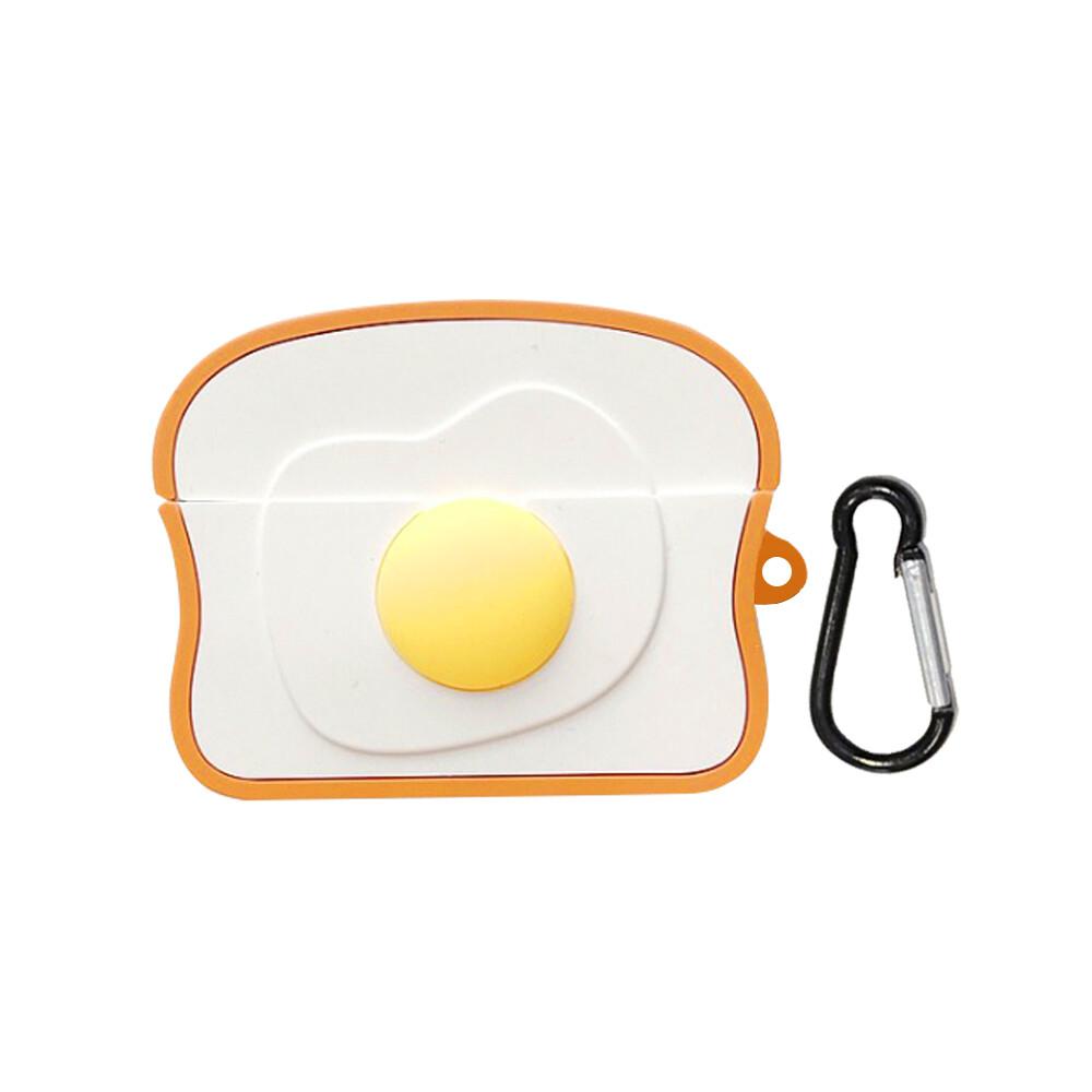 airpods pro 吐司荷包蛋保護套