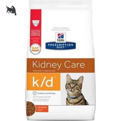 希爾思 Hills 貓 k/d腎臟處方含雞肉貓飼料(8.5磅) 8696 (9.7折)