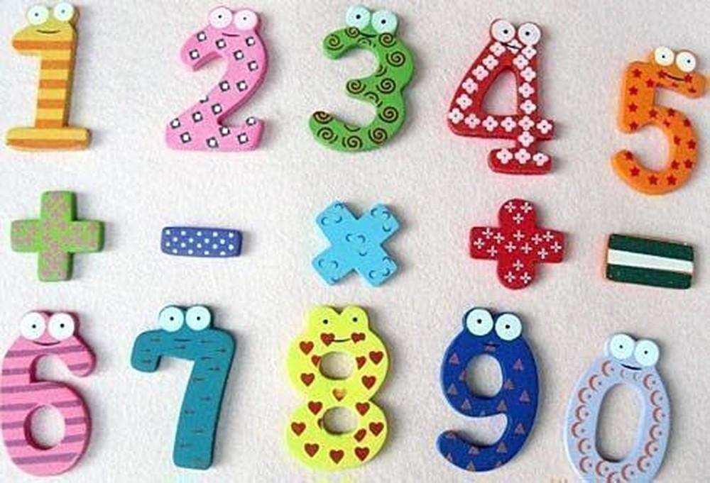 zf box 大塊木質數字冰箱貼含款數字+數學符號 加減乘除可以培養小孩的數字邏輯概念
