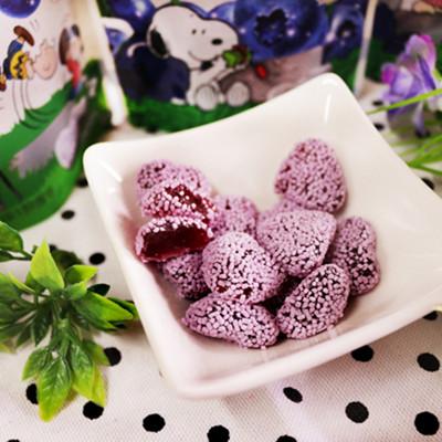 樂天超市架上貨都被掃光!【Lotte】田園軟糖-藍莓 (圖案隨機出貨)R3 (0.4折)