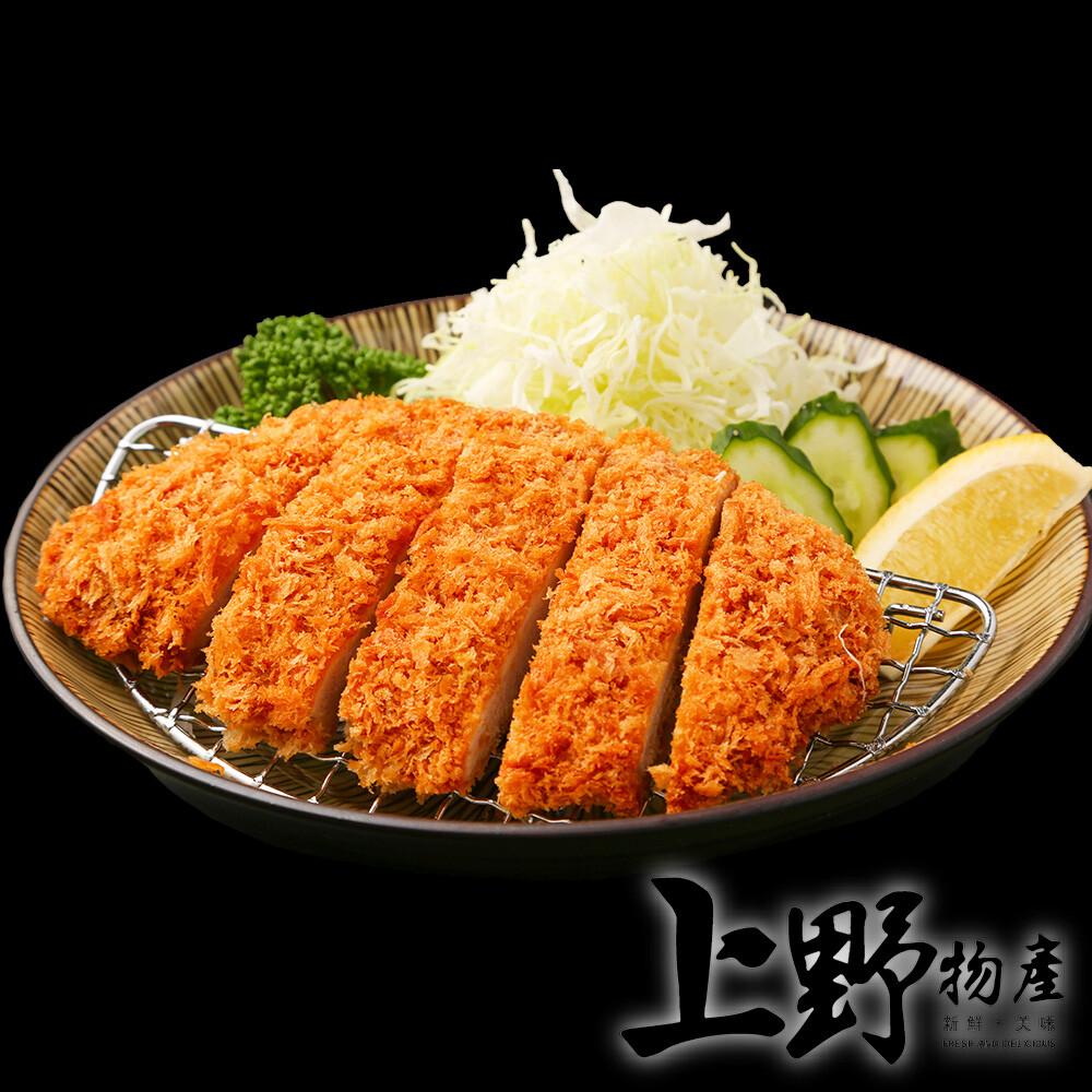 上野物產小型 日式酥脆炸豬排 (85g土10%/片)