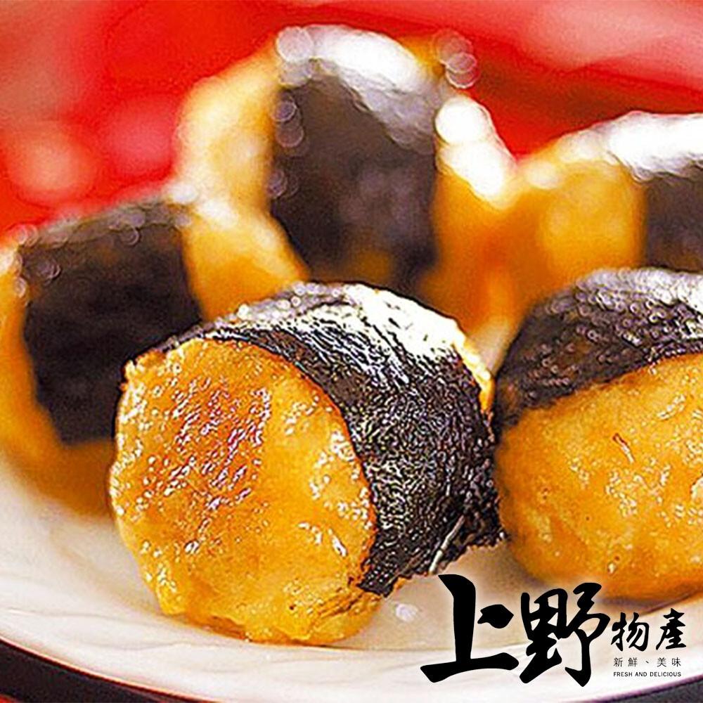 上野物產傳統日式海苔丸(200g10%/5顆/包)