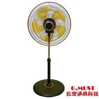 台灣通用新型14吋360度立體擺頭立扇(gm-1436s) (4.9折)
