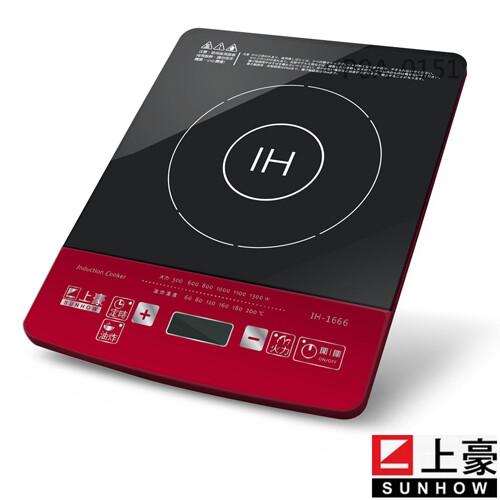 sunhow上豪微電腦定時電磁爐(ih-1666)