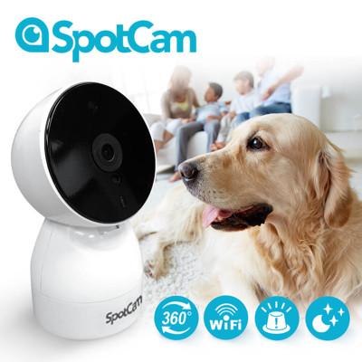 SpotCam HD Eva 全雲端360度可擺頭WiFi監控攝影機 (8.7折)