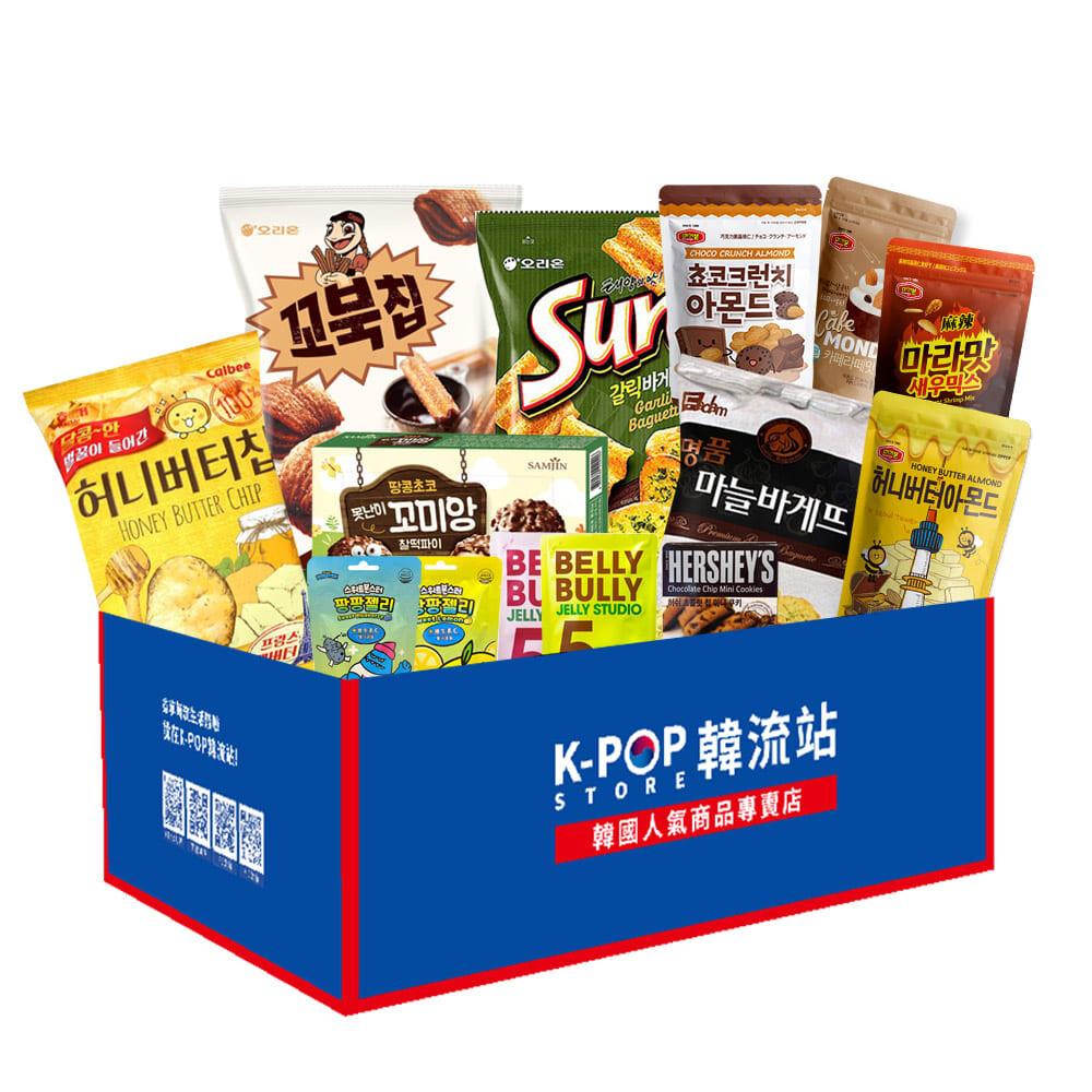 kpop store 韓流站 韓國最新優惠零食大禮箱-超值組