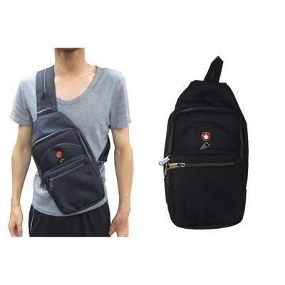 ~雪黛屋~SPYWALK 單後背包小容量單左肩單右肩雙後背反背為胸前USB充電設計主袋+外袋共五層防 (10折)