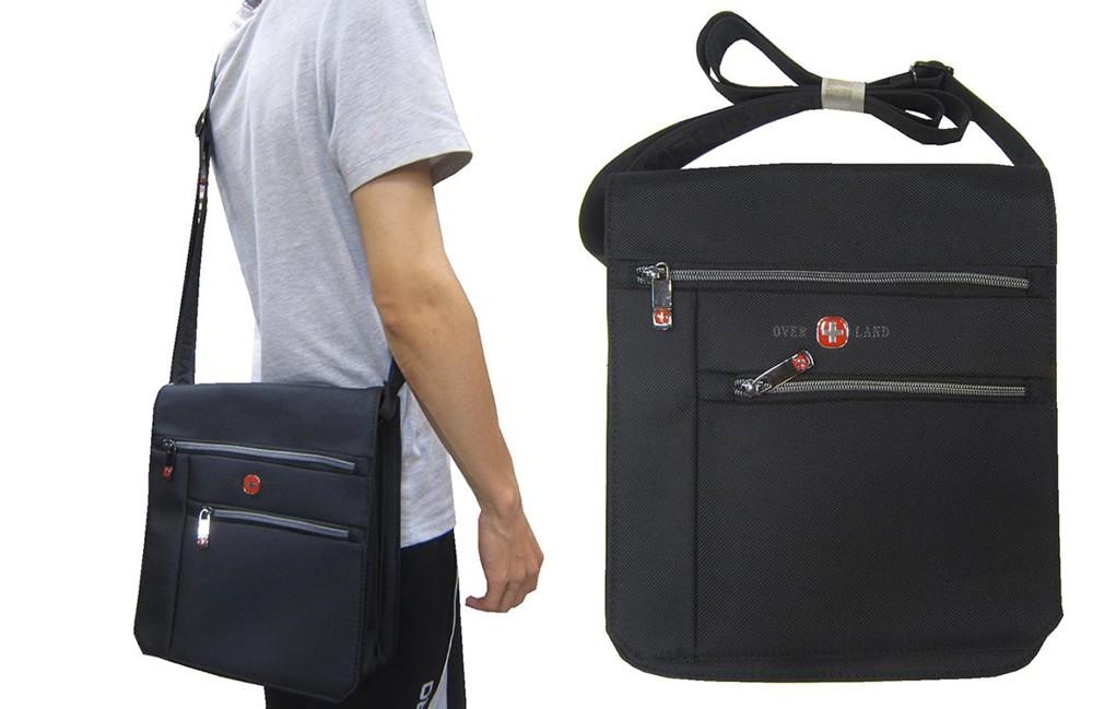 肩側包中容量主袋+外袋共七層扁型包設計三層主袋口防水尼龍布材質中性款男女適用