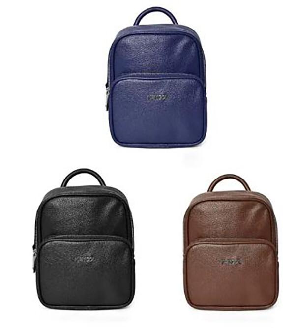 kangol 後背包三用功能超小容量主袋+外袋共二層進口防水防刮皮革材質手提肩背斜側背