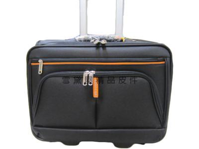 美國18NINO81 16吋商務型拉桿箱大容量手提肩背斜側拉桿式多夾層多袋口可放電腦超輕量型防水材質 (4折)