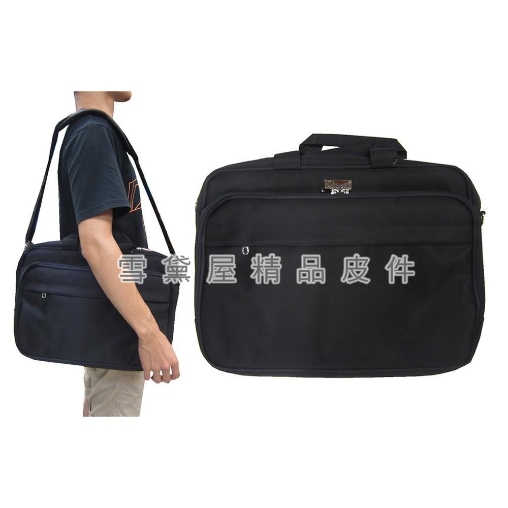 ~雪黛屋~janshin文件包中大容量可a4資夾主袋+外袋共五層底加大二層主袋防水尼龍布提肩背斜側背