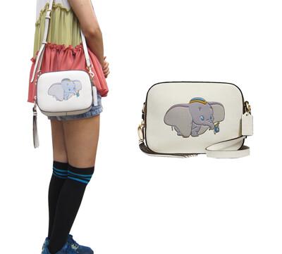 COACH 斜背包小容量肩背斜側背國際正版保證進口防水防防刮皮革品證購證塵套提袋等候10-15日 (3.1折)