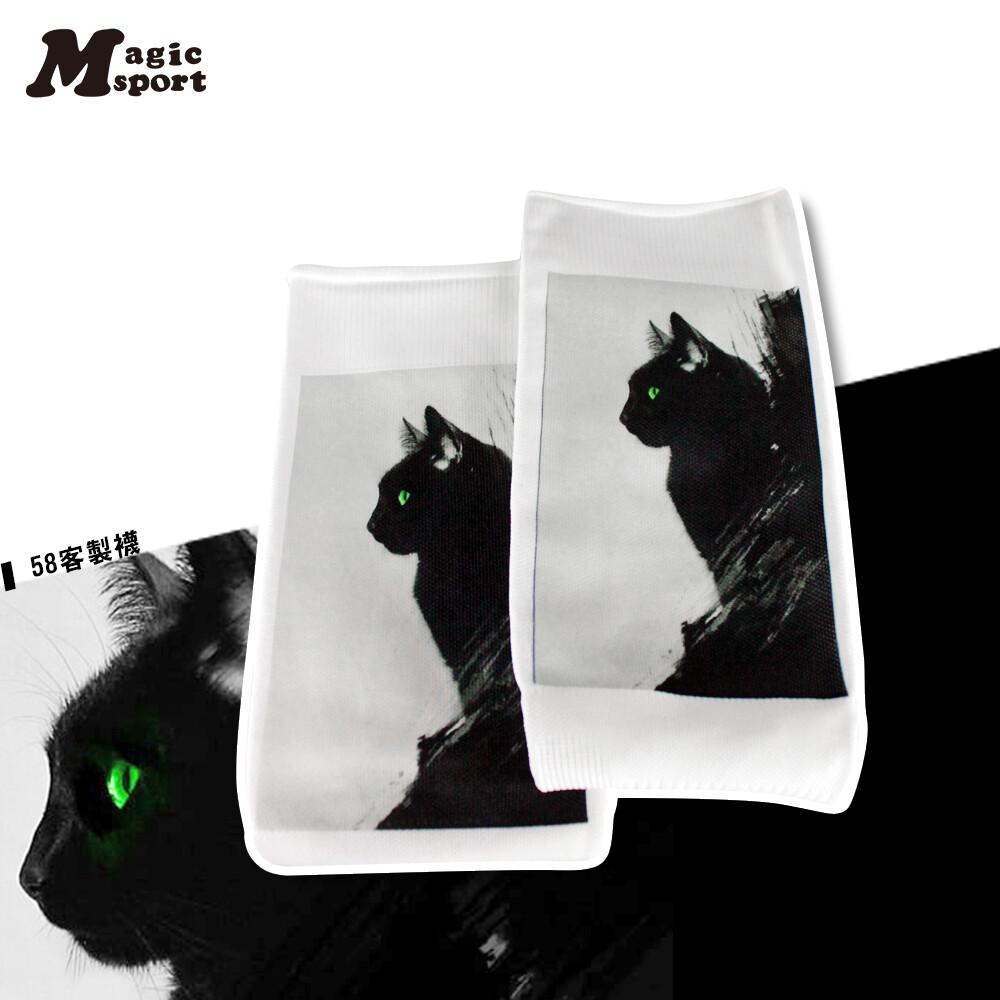 magic美肌刻 運動壓力手臂套 運動壓力手臂套 貓 jg-00720y04k07