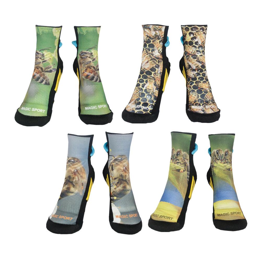 美肌刻 氣墊運動毛巾襪 運動抗菌除臭 3d短襪 四入組 jg-02120y15w