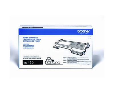 BROTHER TN-450原廠高容碳粉匣 適用MFC-7360/FAX-2840/HL-2240D (8.4折)