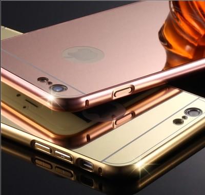 Apple iPhone6 i6s i6 手機殼 鋁合金邊框+鏡面背蓋 防摔保護殼 手機殼 (6.3折)