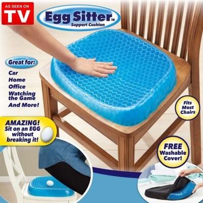 送防塵套 蜂巢式散熱椅墊 Egg Sitter 雞蛋坐墊 凝膠墊 坐墊