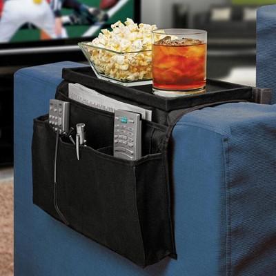 客廳沙發收納盒 臥室沙發掛帶 多格收納 沙發扶手收納掛袋 沙發收納袋 (6.7折)
