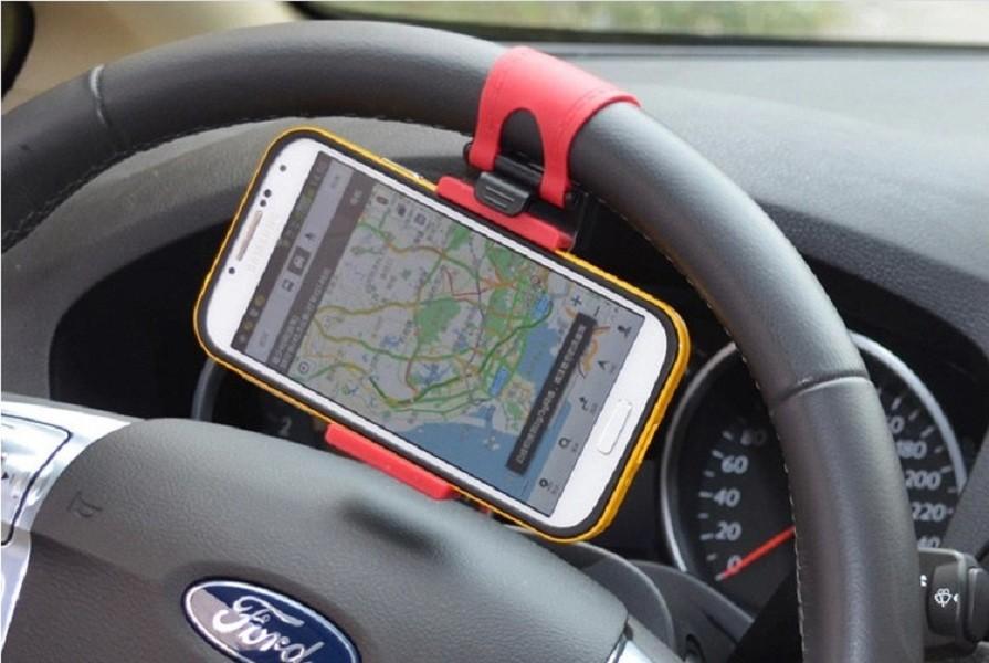 汽車方向盤 手機架 導航架 攜帶型 手機支架 三星 htc i6s 手機座 手機架 導航架 追劇架
