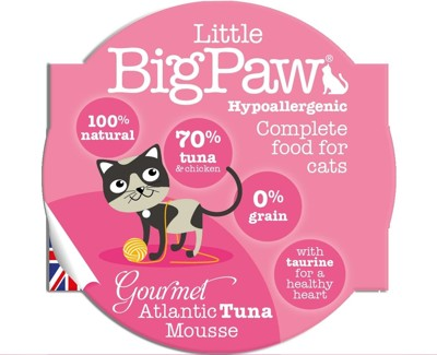 Little Big Paw英國無穀主食貓罐 85g (英國製) (9折)