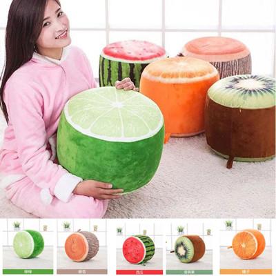 創意水果充氣抱枕/椅子(附打氣筒) (4.2折)