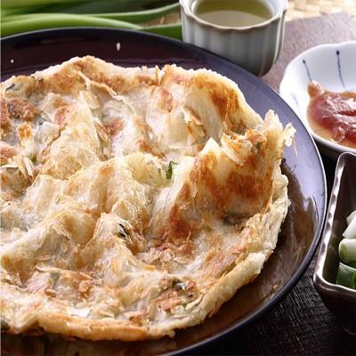 【蔥阿伯】宜蘭拔絲層次蔥抓餅(豬油) (5折)