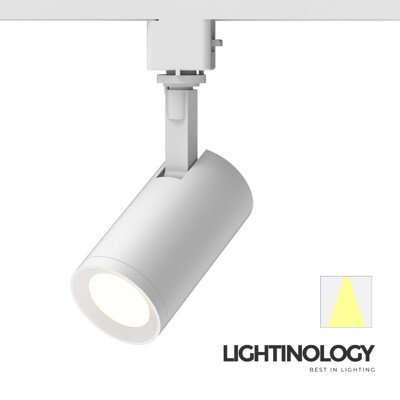 【Lightinology軌道燈】LED COB極簡主義January系列(霧白)(黃光/自然光) (7.9折)