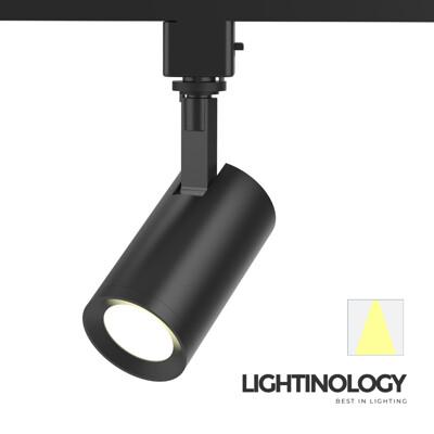 【Lightinology軌道燈】LED COB極簡主義January(霧黑)(黃光3000K) (7.9折)