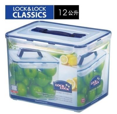 樂扣PP微波手提式保鮮盒--12L--長方型-HPL-889 (8.5折)