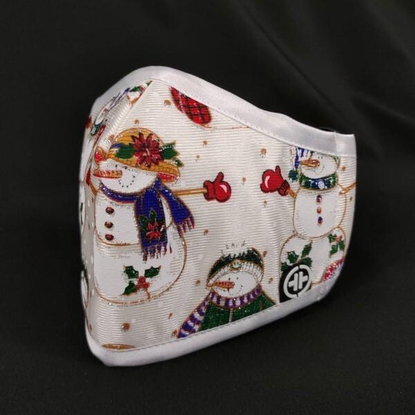 pyx 品業興 h康盾級口罩 - s號 (銀白聖誕)