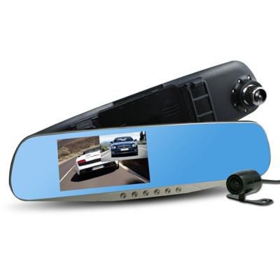 行走天下 CR-05 雙鏡頭後視鏡行車記錄器 (2.1折)