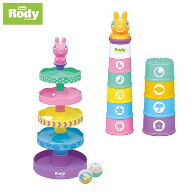 【RODY】高級滑球塔+數字杯 (9.9折)