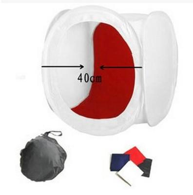4色可折疊柔光攝影棚 (5.3折)