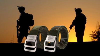 美國軍規強固型尼龍腰帶(贈口罩暫存收納夾) (3.1折)