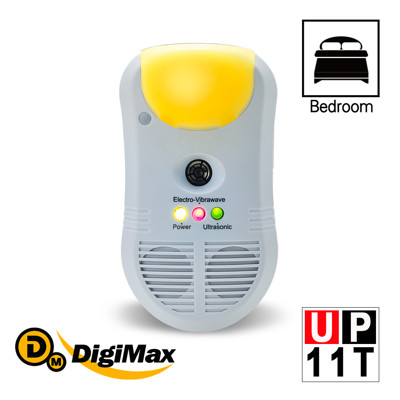 DigiMax★UP-11T 強效型三合一超音波驅鼠器 (4.4折)